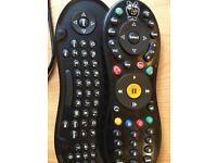 TiVo peanut remote with qwerty keyboard