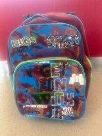 Pull along kids bag