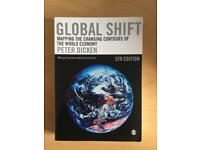 Global Shift : Mapping the changing contours of the world economy - Peter Dicken 5th edition