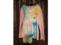 Cinderella Pyjamas - Age 10-11 - Brand New with tags