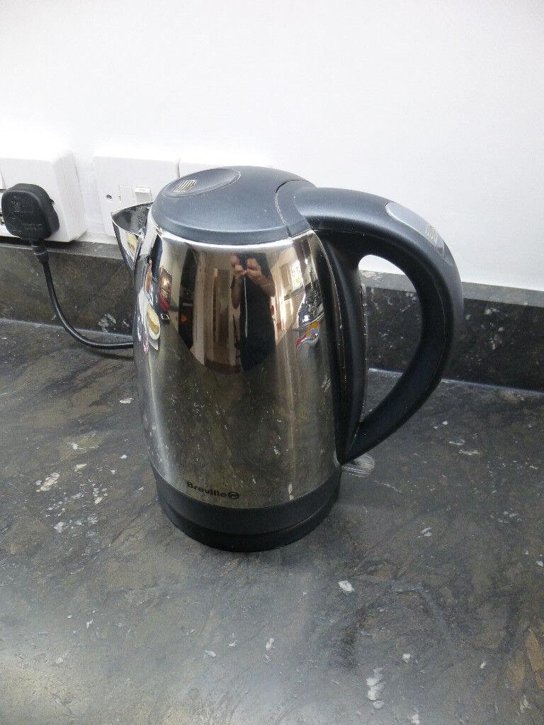 breville kettle - Stainless steel