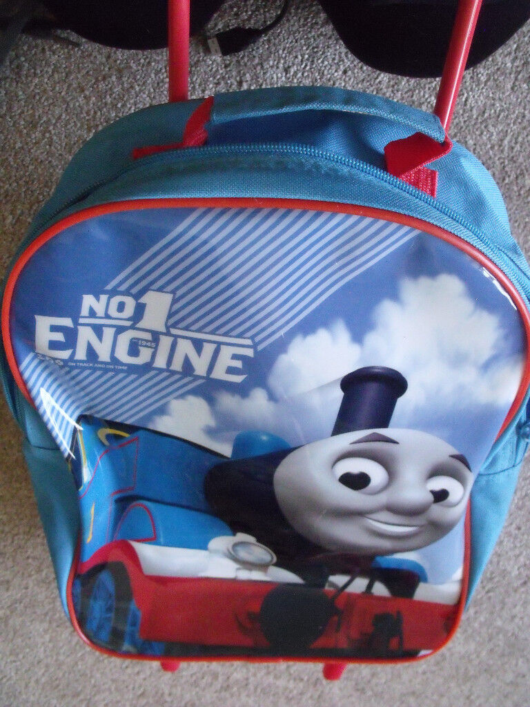 Childs Thomas The Tank Wheeled Suitcase 15 X 10 X 4 Inches Approx