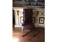 HIGH END RESTAURANT CHAIRS FOR SALE DUE TO REFURBISHMENT