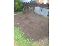 Three tonne of top soil on drive if you need any come and get it for free