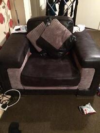 Sofa+arm chair