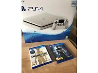 Brand new sealed PS4 slim + uncharted 4 & collection Full warranty and receipt