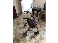 Mobility wheeled walker