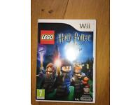 Wii game Lego Harry Potter
