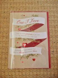 Mens Womens Girls Boys Unisex Valentine's / Valentines Day Greetings Card