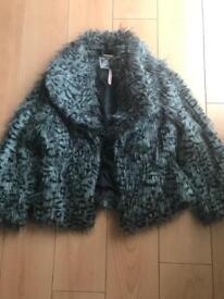 Lipsy fur jacket