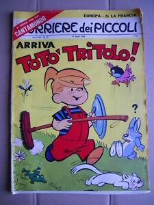Corriere dei Piccoli n°15 1965 [G750] NO INSERTO - Italia - L'oggetto può essere restituito - Italia