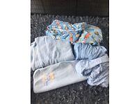 Boys cotbed/blanket bundle