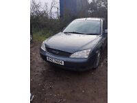 2003 FORD MONDEO 1.8 PETROL BREAKING FOR PARTS
