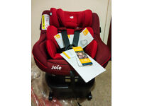 Joie Spin 360 BRAND NEW Combination ISOFIX Car Seat 0+1 Child- MERLOT