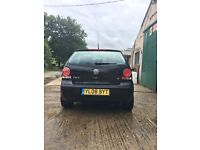 Black VW polo 1.2 2008, fox alloys, great car never let me down once. Only had two owners.