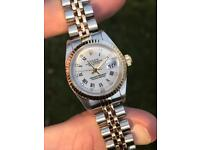 Ladies Rolex Datejust 79173 factory diamond dial
