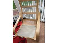 2 X IKEA Poang chair frames great condition