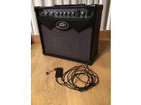 PEAVEY GUITAR AMP AND PICK UP