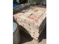 500 Reclaimed imperial bricks