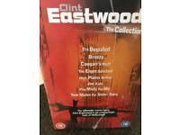 BOX SET - CLINT EASTWOOD DVDS