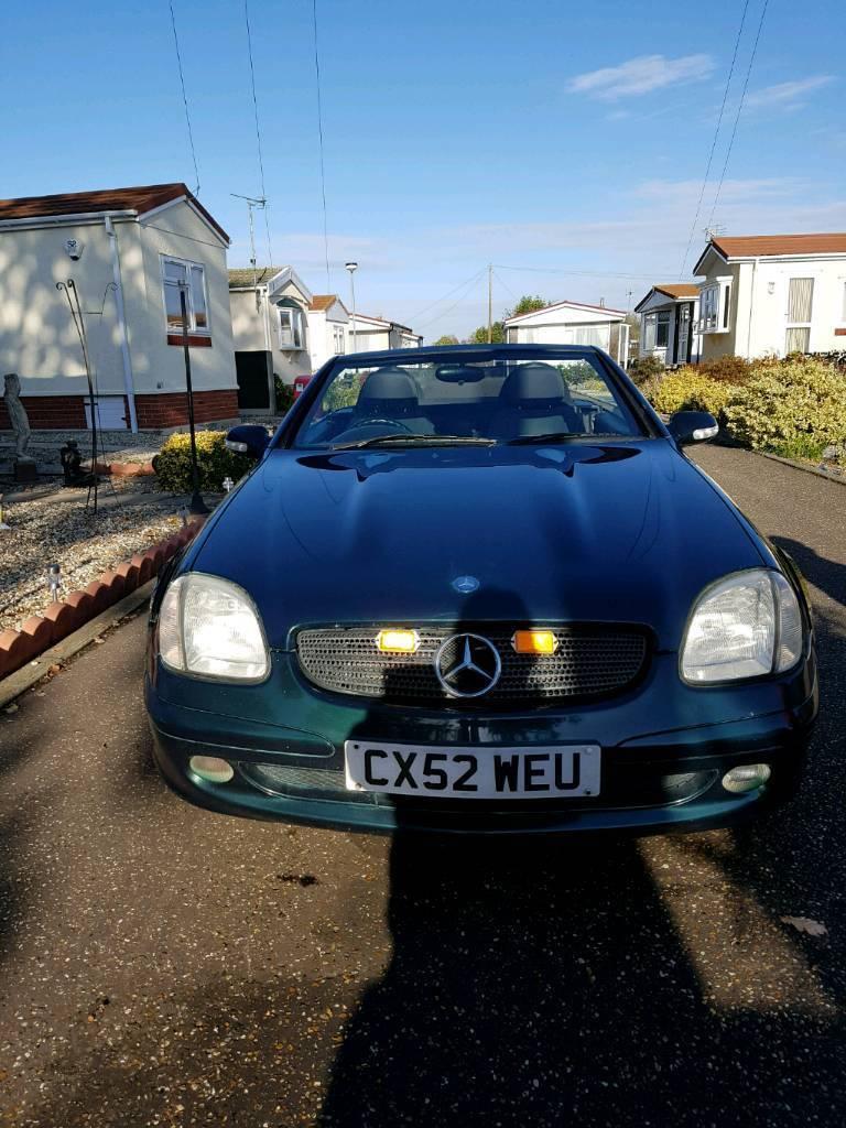 Mercedes Slk 200 Kompressor 2002 In Norwich Norfolk Gumtree