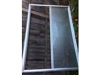 Shower door 1300 wide with adjustment