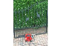 Set of double gates coated black great value for money