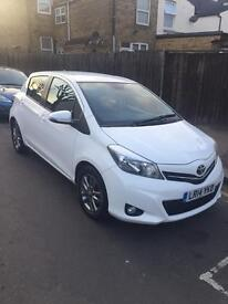 2014 Toyota Yaris 1.33 VVT-i Icon Plus Petrol white Manual