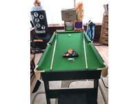 Pool Table - 4.5ft Foldable