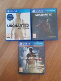 Ps4 Full Uncharted collection 1 2 3 4 5
