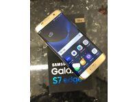 SAMSUNG S7 EDGE 32GB UNLOCKED GOLD BOXED