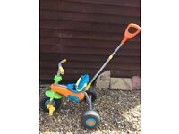 Tricycle Bike for Toddler with Parent Handle