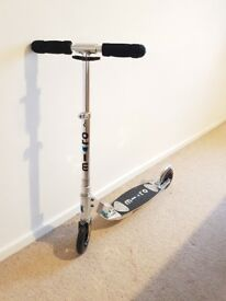 Adult Micro Flex Classic Scooter - Silver Nearly New