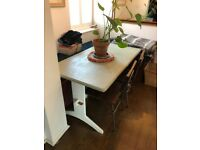 4 / 6 Seat Wooden Table Painted