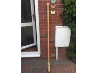 Wooden 5ft curtain pole