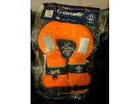 Large child size crewsaver life jacket