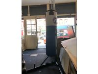 "Ringside 40kg 4"" Punchbag and York Fitness Stand"