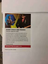 Roy Orbison ( Barry Steel) Christmas Special Tickets 23rd December Victoria Hall Stoke