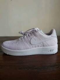 Nike Air Force One Fly Knit Low • UK 7.5 • BNIB • RRP £115