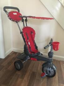 Smart trike in red - 5 in 1. !!REDUCED!!