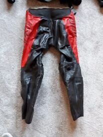 Dainese 2 piece leather motorcycle suit
