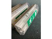 Emergency bulkhead lights