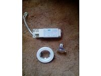 Down lights / spot lights - job lot of 11 low voltage, white downlights - £10.00 ono