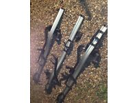 x3 Thule 591 ProRide Twin Pack Roof Mounts