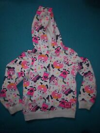 Girls Moshi Monsters Hooded Jacket Age 5-6 Years IP1