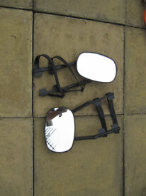 Caravan Extension mirrors for cars.