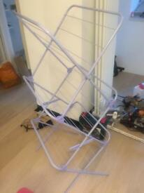Purple lilac washing hanger airer hardly used