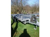 Trailer ideal for vintage tractors