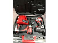 Milwaukee M18 twin pack brushless 4amp battery's