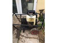 Diesel pressure washer jet heavy duty cleaning drives